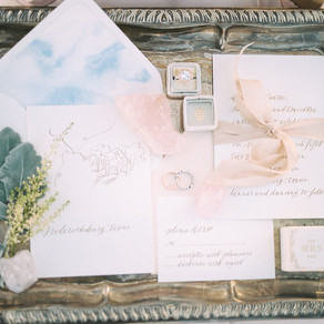 Rose Quartz + Serenity-Filled Texas Winery Editorial