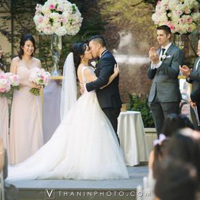 Ellen and David's Vietnamese Tea Ceremony and Ballroom Wedding at Hotel Crescent Court