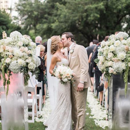 Breanne and Austin's Blush and Garden Marie Gabrielle Wedding