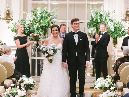 Charlotte and Wylee's Modern Glam Wedding at The Adolphus