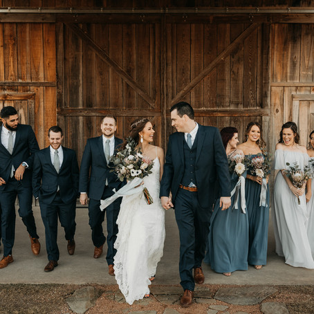 Hillary and Austin | Rustic Wedding at The Venue Waterstone