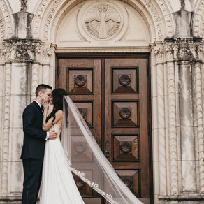 Katy and Dylan Black Tie Chic Wedding at Hilton Anatole of Dallas