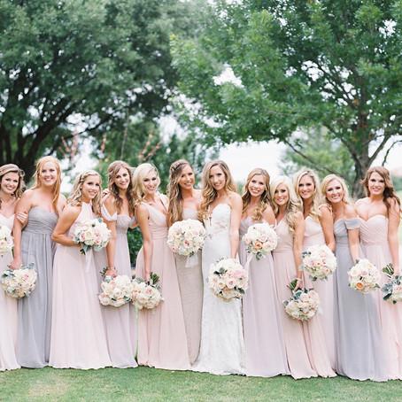 Kristin and Josh's Soft and Romantic Wedding at Four Seasons Resort and Club Dallas at Las Colinas