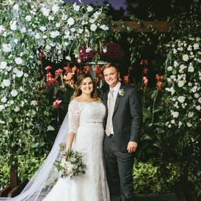 Amelia and Zach's Garden Wedding at the Dallas Arboretum