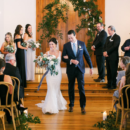 Kelsey and Michael's Romantic Intimate Wedding at Cliff House