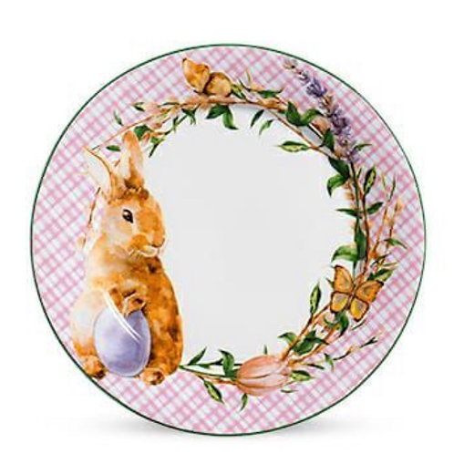Prato Raso Bunny Rosa Páscoa - Scalla Concept