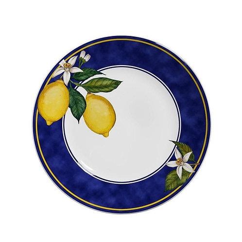 Jogo De Pratos Rasos Scalla Sicília - Limões Sicilianos