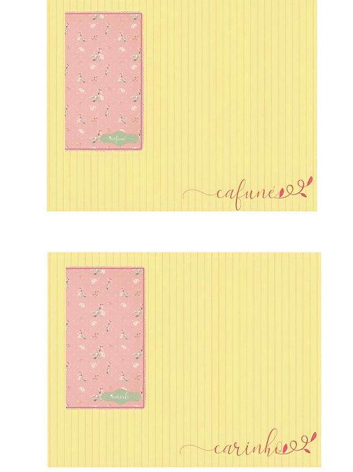 Kit para 2 Pessoas (Coleção - Meu lar) - Carinho / Cafuné