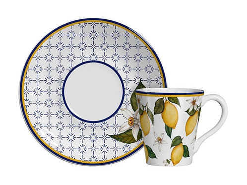 Xícaras de Chá Scalla Sicília - Limões Sicilianos