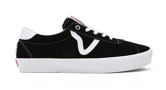 Vans Skate Sport Black White