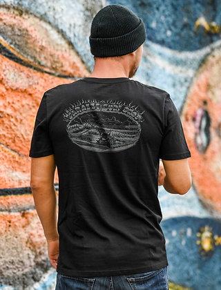 La Victor Matte Black T-shirt