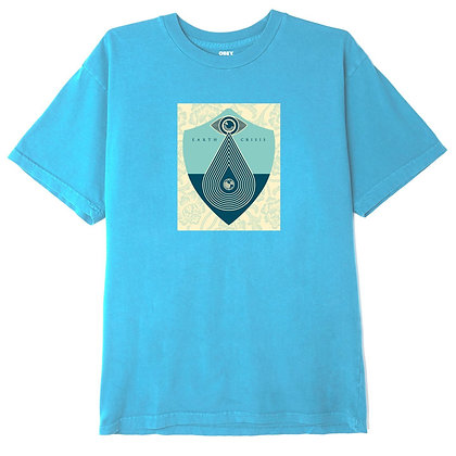OBEY EARTH CRISIS ORGANIC SUPERIOR T-SHIRT