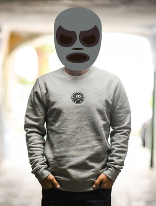 Logo 98 Crewneck Heather Grey