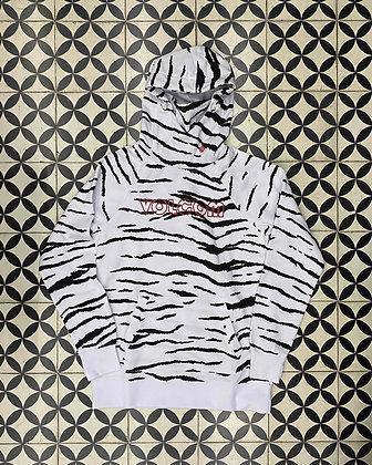 "Volcom Hydro Riding Hoodie White ""Zebra"""