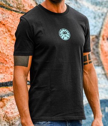 Logo 98 Black Blue T-Shirt