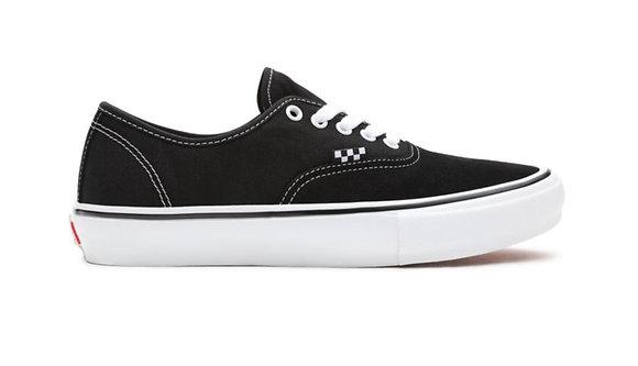 Vans Skate Authentic Black White