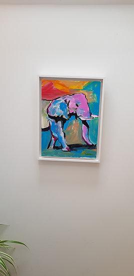 Bright elephant.