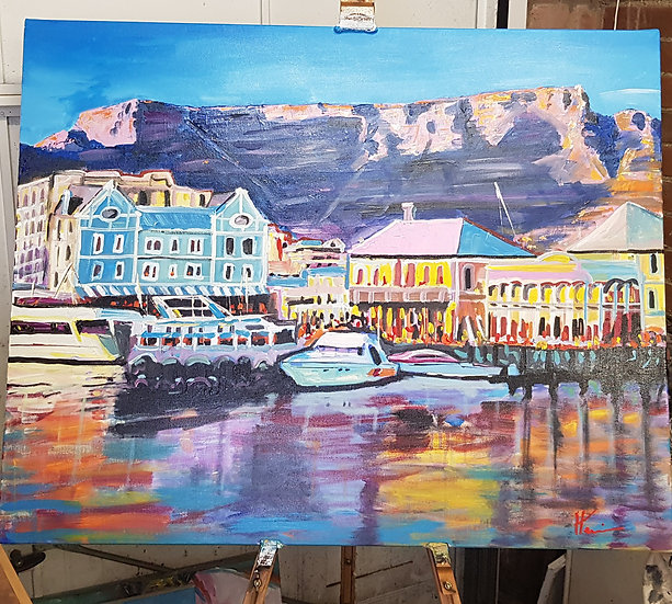 Cape Town Waterfront.  SOLD