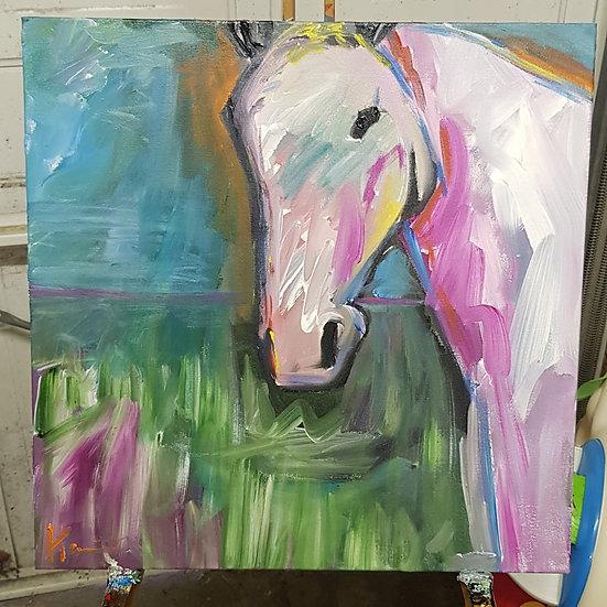 Impressionist horse.