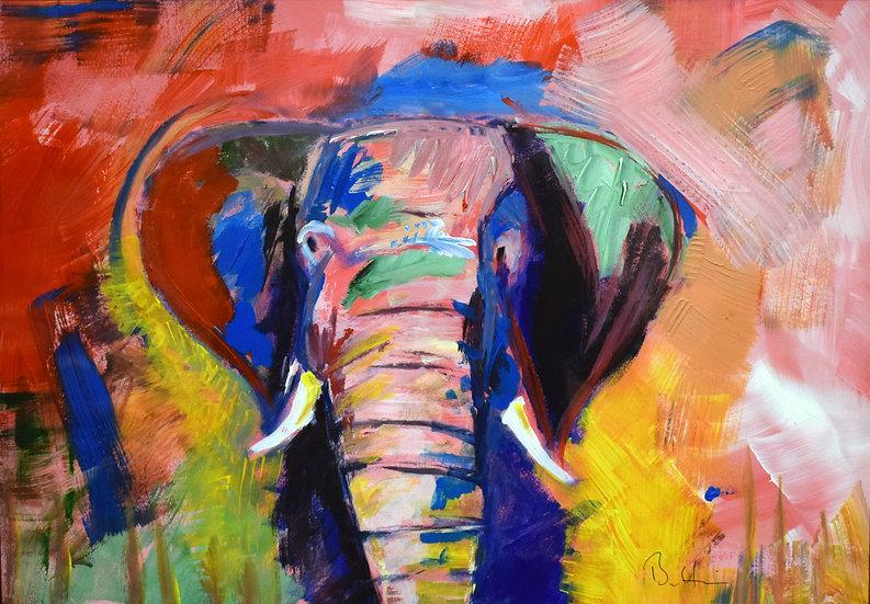 Elephant.  SOLD
