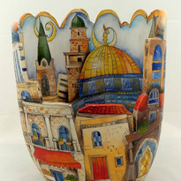 Jerusalem  8 x 5 x 11 inches