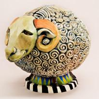 """Olivier"" (Big Round Sheep)"