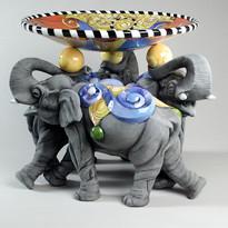"""Circus Days"" (Triple Elephants)"