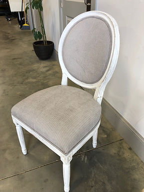 Grey/Off-White Dining Chair