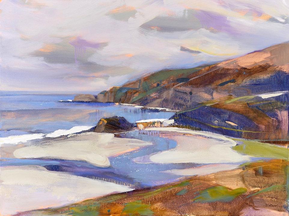 big sur coast painting