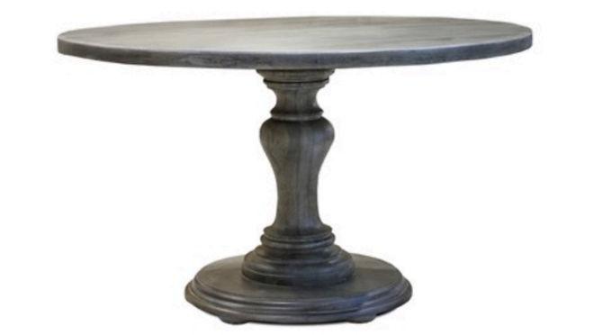 Dark Grey Dining Table