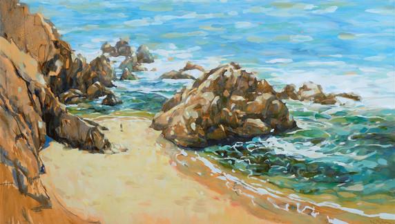 Beach at Bodega Head