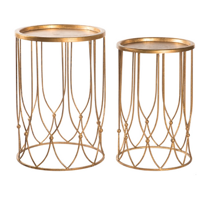 Gold Metal Tables