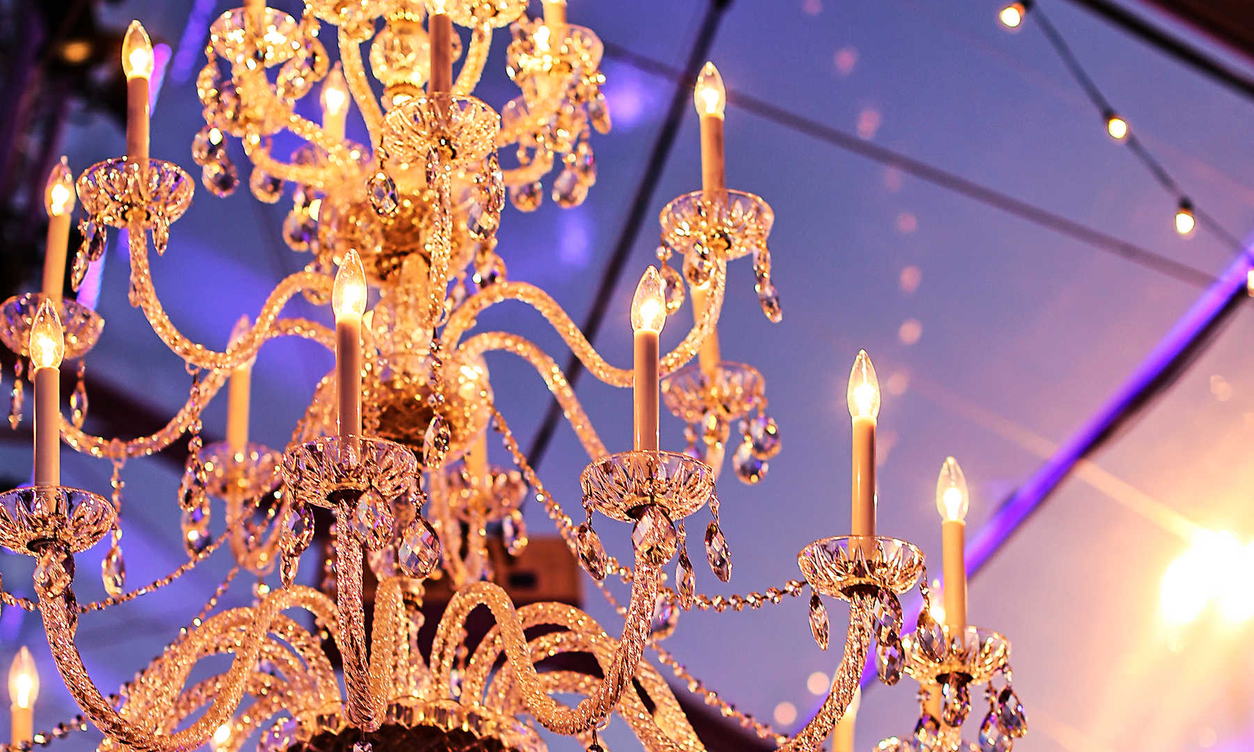 Extra Large Crystal Chandelier(stock pho