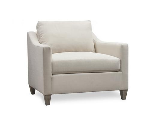 Neutral Tweed Chair