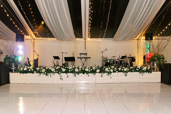 Antique White Stage Boxes