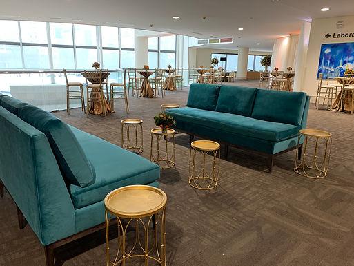 Jade Velvet Sofa