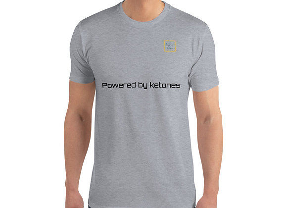 """Powered by ketones"" Short Sleeve T-shirt"