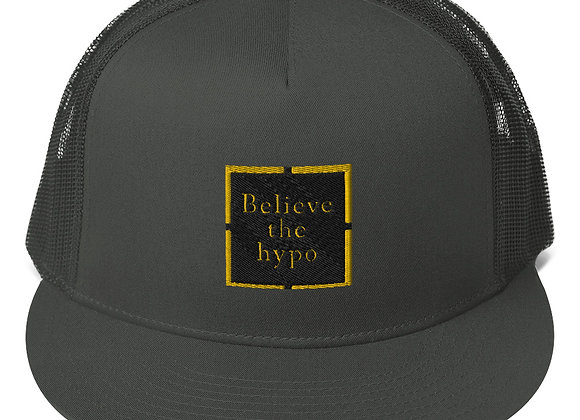 Believe the hypo Mesh Back Snapback