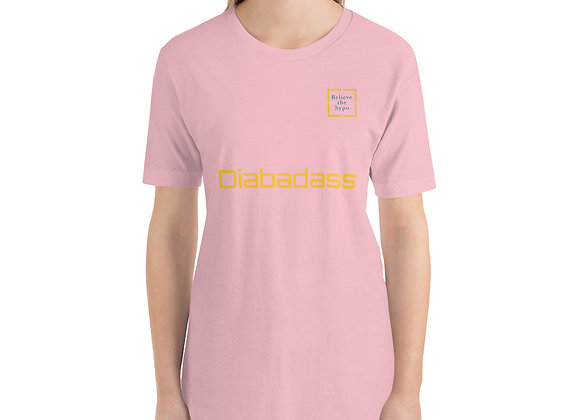 'Diabadass' Short-Sleeve Unisex T-Shirt