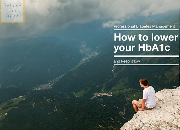 How to lower your HbA1c