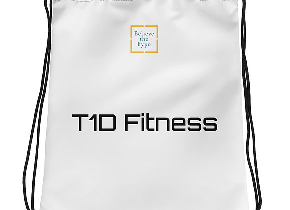 T1D Fitness Drawstring bag