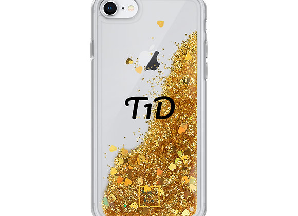 """T1D"" Liquid Glitter Phone Case"