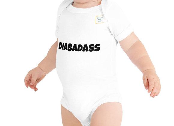 Baby 'Diabadass' one piece
