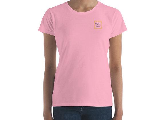Believe the hypo Women's short sleeve t-shirt