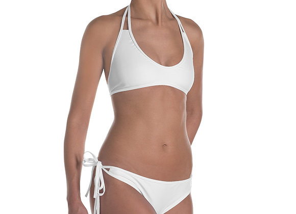 White Believe the hypo Bikini