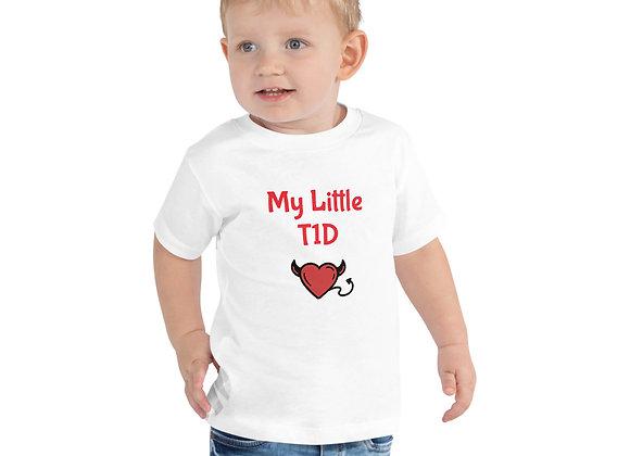 'My Little T1D' Toddler Short Sleeve Tee