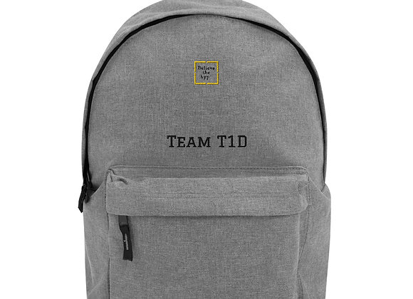 """Team T1D"" Backpack"