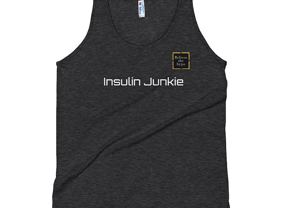 'Insulin junkie' Unisex Tank Top
