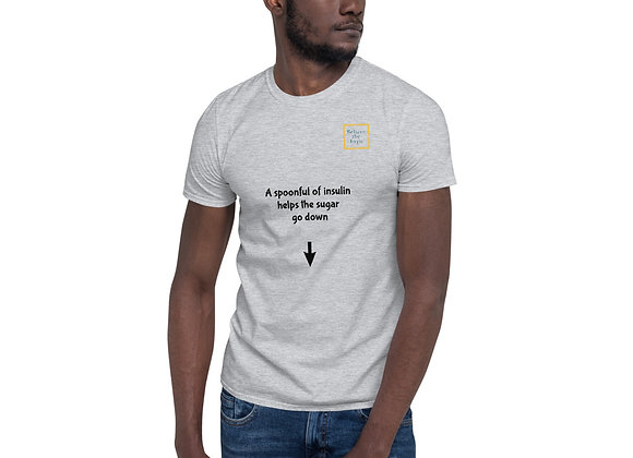 'Spoonful of sugar' Short-Sleeve Unisex T-Shirt