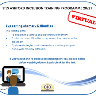Supporting Memory Difficulties